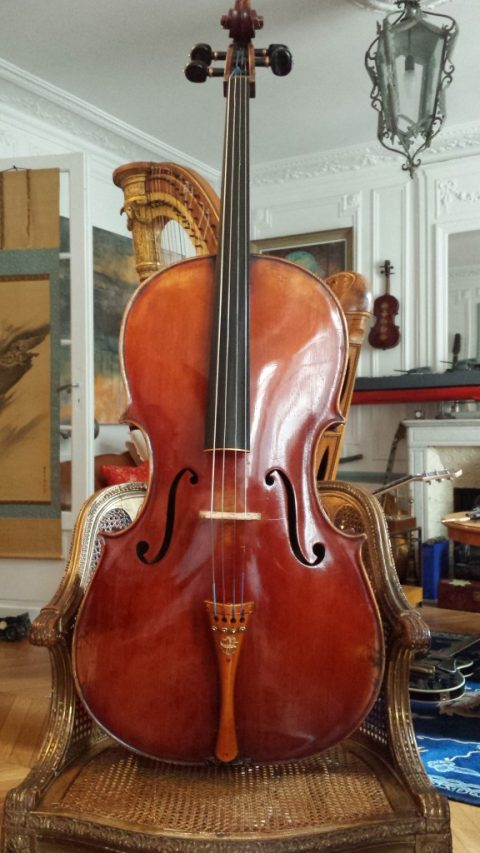 Cello Emile Pouzol 1937