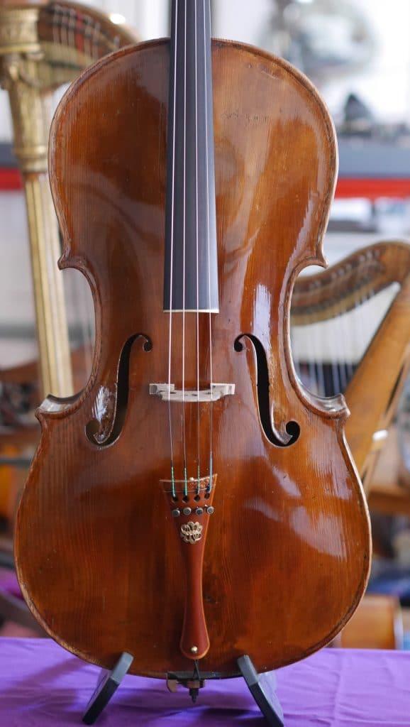 Italian-cello-unknown-face